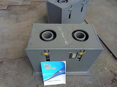 单排双组弹簧箱